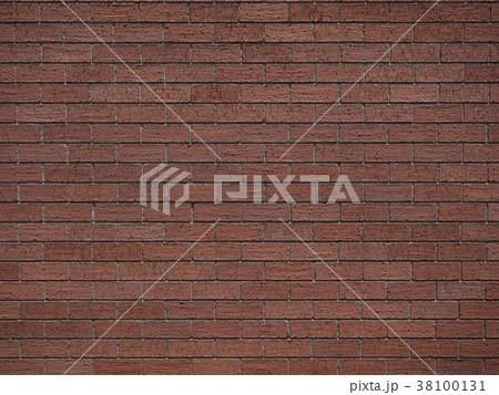 レンガタイルの壁 38100131
