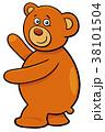 テディ くま クマのイラスト 38101504