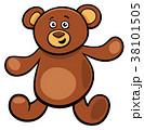 テディ くま クマのイラスト 38101505
