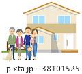 家族 ファミリー 人物のイラスト 38101525