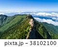 石鎚山(愛媛県) 空撮 38102100