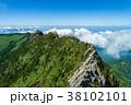 石鎚山(愛媛県) 空撮 38102101