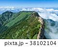 石鎚山(愛媛県) 空撮 38102104