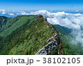 石鎚山(愛媛県) 空撮 38102105