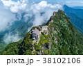 石鎚山(愛媛県) 空撮 38102106