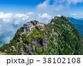 石鎚山(愛媛県) 空撮 38102108