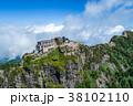 石鎚山(愛媛県) 空撮 38102110