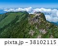 石鎚山(愛媛県) 空撮 38102115