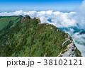 石鎚山(愛媛県) 空撮 38102121