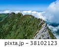 石鎚山(愛媛県) 空撮 38102123