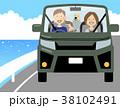 家族 ベクター ドライブのイラスト 38102491