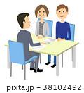 夫婦 打ち合わせ 商談のイラスト 38102492