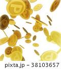 コイン メダル ポイントコインのイラスト 38103657