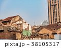 中国・上海の再開発地区 38105317