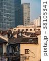 中国・上海の再開発地区 38105341