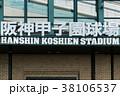 阪神甲子園球場の看板。 38106537