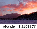 男体山 夜明け 風景の写真 38106875