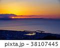 (静岡県)用宗港の夜明け 38107445