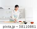 キッチン 台所 女性の写真 38110861