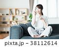 若い女性(朝食) 38112614