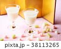甘酒と雛あられ 38113265