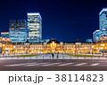 東京駅 駅 夜景の写真 38114823