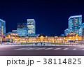 東京駅 駅 夜景の写真 38114825