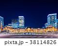 東京駅 駅 夜景の写真 38114826