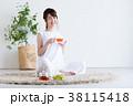 若い女性(紅茶) 38115418