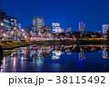東京 桜田濠の夜景(桜田門前より国会議事堂方面) 38115492