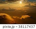 夕日 木曽駒ヶ岳 御嶽の写真 38117437