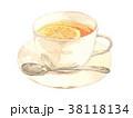 レモンティー 水彩 紅茶のイラスト 38118134