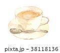 ミルクティー 紅茶 ティーカップのイラスト 38118136