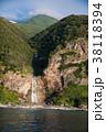 知床観光船からの景色 知床岬 カムイワッカの滝 38118394
