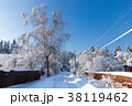 Beautiful winter landscape 38119462
