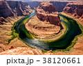 Horseshoe Bend on Colorado River 38120661