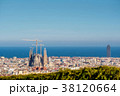 Barcelona cityscape overlook 38120664