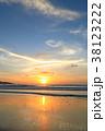 バリ島のサンセット 38123222