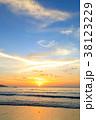 バリ島のサンセット 38123229