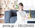 若い女性(ワイン) 38126460