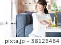 若い女性(ワイン) 38126464