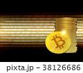 ビットコイン コイン 硬貨のイラスト 38126686