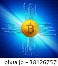 ビットコイン コイン 仮想通貨のイラスト 38126757