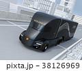 トラック 高速道路 自動運転のイラスト 38126969