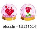 バラ 芽 蕾のイラスト 38128014