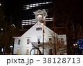 札幌時計台 夜景 38128713