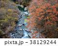 秋 紅葉 濁河川の写真 38129244