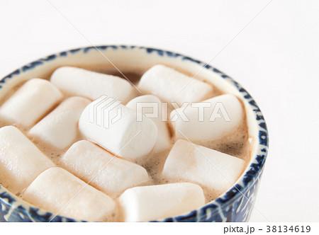 マシュマロ お菓子 ココア 冬 おやつ 38134619