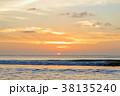 バリ島のサンセット 38135240