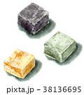 和菓子 お菓子 スイーツのイラスト 38136695